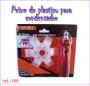 Peine de plástico para condensador